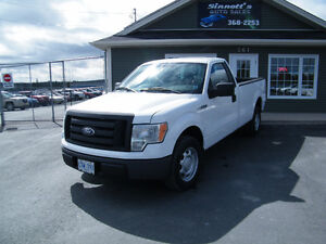 2010 Ford F-150 2wd Reg cab long box 139,000 km, INSPECTED