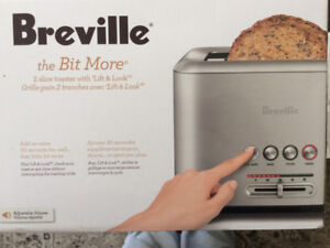 Brand new Breville the bit more 2 slice toaster