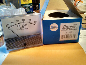 SHURITE PANEL METER, Amp Meter (#7505Z)  & Volt Meter (#7407Z) Cambridge Kitchener Area image 3