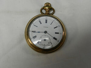 Waltham A.W.C Gold Plated Pocket watch