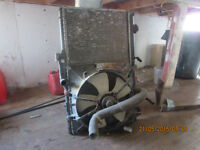 rad and fan for 2001 toyota corolla
