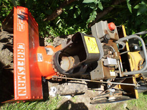 "Sears Craftsman  5/22""  snowblower  for sale"