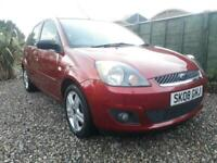 Ford ** FIESTA DIESEL ZETEC ** 1.4 TDCi -£30 Road Tax- ONLY 54k miles