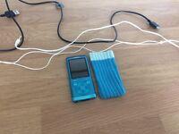 Sony Walkman electric blue