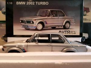 1:18 Diecast Autoart BMW 2002 Turbo Silver 70502