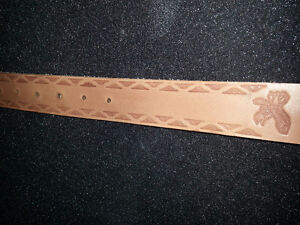 Custom real leather belts hand made to order Kitchener / Waterloo Kitchener Area image 5