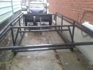 Ladder rack for a truck 8 foot box