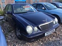 Mercedes HPI CLEAR AUTOMATIC 77000 warranted miles in very good condition mechanically E240