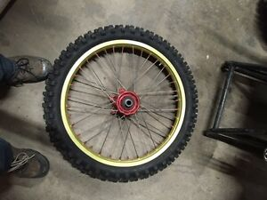 Excel Front Rim and Tire
