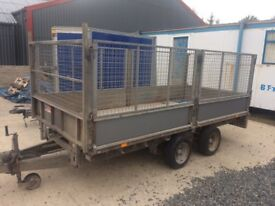 Iforwillaim trailer 12x5 with caged side £1700
