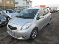 2006 Toyota Yaris Hatch 5Dr 1.3VVTi 87 T Spirit Petrol silver Manual