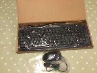Computer keyboard new unused