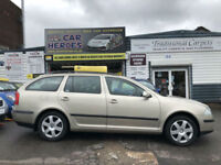 2005 ESTATE SKODA OCTAVIA ELEGANCE 2.0 140 TDI( AA ) 12 MONTH BREAKDOWN INCLUDED