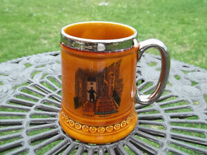 Lord Nelson Pottery vintage Steined Mug made in England silent n