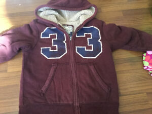 Children's Place Shepard lined Hoody $10