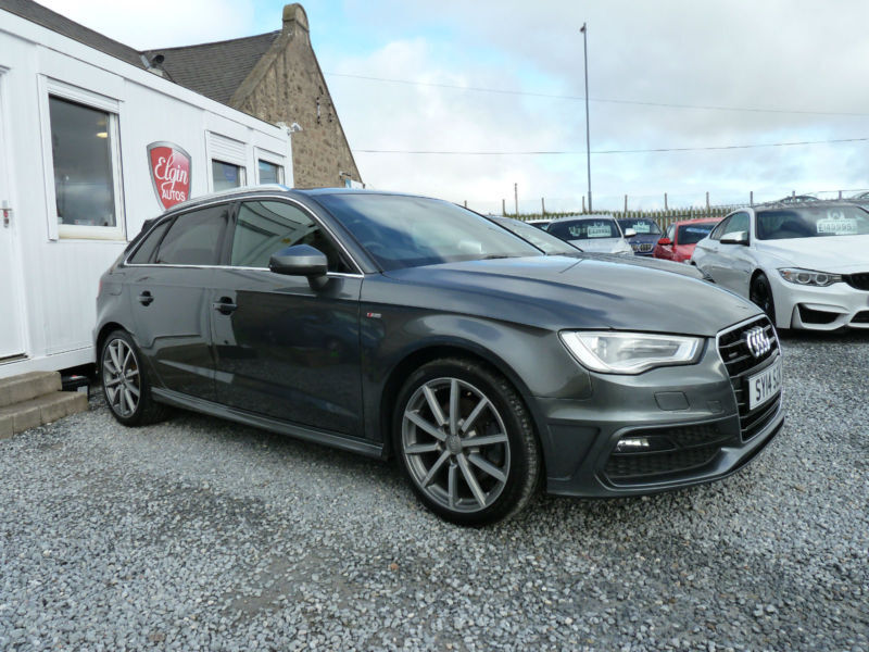 2014 14 audi a3 s line quattro s tronic 2 0 tdi 184 bhp in elgin moray gumtree. Black Bedroom Furniture Sets. Home Design Ideas
