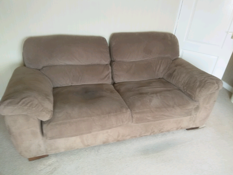 Free 3 seater sofa in brown