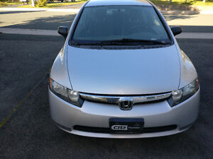 2008 Honda Civic - low mileage - 5-speed manual