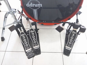 DW 3000 double bass pedal + hihat