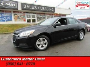 "2016 Chevrolet Malibu Limited LT  MY-LINK, 7"" SCREEN, ALLOYS, ST"