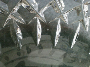 Collectible Antique Crystal Heavy Cut Bowl London Ontario image 4