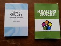 Two Child and Youthcare textbooks for Truro Campus