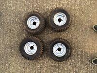 Set Quad tires and wheels