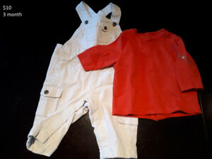 Gently used baby boy clothes (European brands/quality)