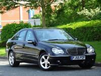 Mercedes Benz C180 K 1.8 Auto 2006 Avantgarde SE +1 OWNER +11 SERVICE STAMPS