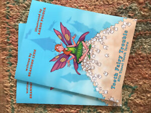 """2 """"Tooth Fairy"""" kids books to give away"""