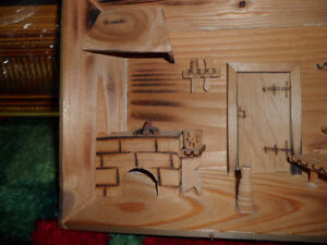 3D Cedar Picture 8 inches wide $20. Prince George British Columbia image 2