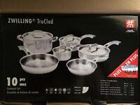 J.A. Henckels Zwilling TruClad cookware