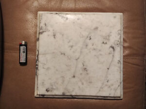 Italian made square marble pad