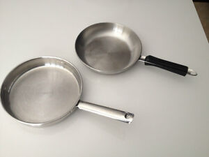 Lagostina Stainless Pan  $15 each
