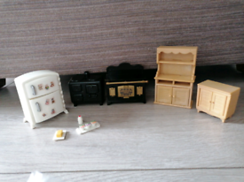 Sylvanian families kitchen set