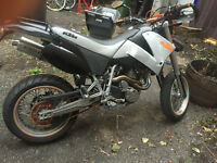 KTM 640 LC4 SM(SUPERMOTO) FOR SALE
