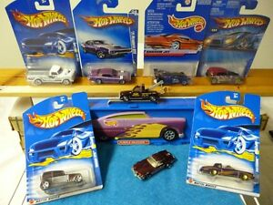 Hotwheels Matchbox Cars Purple with Carrying Case