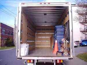 Demenagement Rapide 65$/h camion 20 pieds + 2 demenageurs.