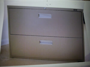 Legal Size two drawer filing cabinet