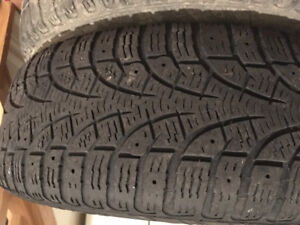 2 sets of Pirelli Winter Tires (used on VW Golf)