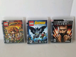 PlayStation 3 Games - Lot of 3