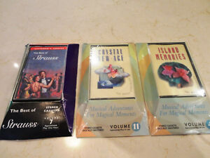 Three Easy Listening - Classical - New Age Cassette Tapes - NEW Kitchener / Waterloo Kitchener Area image 1