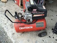 Air compressor for parts