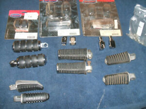 foot  pegs and adapters