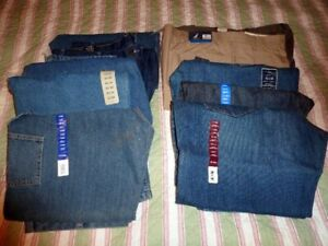 """10 Pairs New Men's Jeans. Size 42"""" x 30"""""""