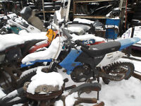 1999 GEO 200cc MOTORCYCLE FOR WHOLE/PARTS.