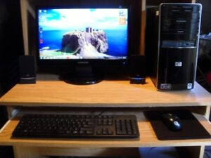 Complete Computer system HP 2.6 GHz Dual Core