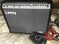 Laney amplifier and foot pedal