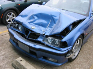Looking for m3 e46/e36 wrecked damaged rolling shell
