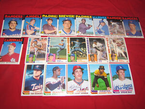 Selection of 30 Topps Traded cards from the 1980s*